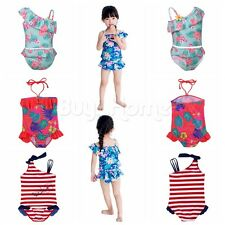 Toddler Kid Girls Baby Tankini Bikini Swimsuit Swimwear Bathing Suit Beachwear!