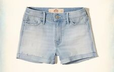 NWT Hollister by Abercrombie and Fitch Hollister High Rise Denim Shorts