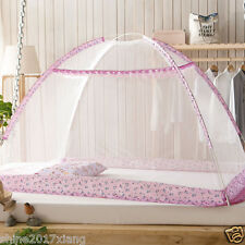 Baby bed mosquito nets bottomless foldable newborn Zippered Mosquito Net Tent