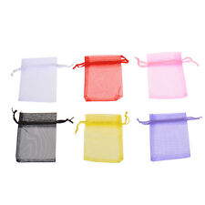 10/50x Sheer Organza Wedding Party Jewelry Gift Favor Candy Bag Pouch Wholesale