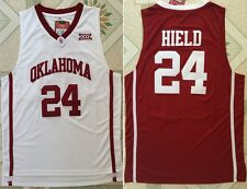 Buddy Hield #24 NCAA Oklahoma Red White Men Basketball Stitched Jersey S - 2XL