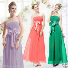 Dress Long Evening Party Maxi Boho Floral New Womens Cocktail Summer Ball Dress