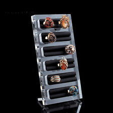 Acrylic bracelets rings Display stand Jewelry store show case Holder Organizer