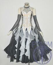 Modern Ballroom Competition Dress Standard Waltz Tango Handmade Dance Dress 2270