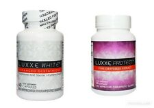 Luxxe White Enhanced Glutathione 60 Caps & Luxxe Protect Glutathione Booster 30