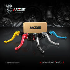 MZS Short Clutch Brake Levers For Buell XB12R 2009 X1 Lightning 1998-2002 CNC