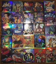 Lot 6 Disney DVDs: Beauty and the Beast, Aladdin, Cinderella,Monsters ........