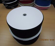 50mm *25M/Roll (1 Roll Hook + 1 Roll Loop) Sew On Touch Tape Fastener Tape