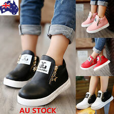Baby Kids Boys Girls Toddler Ankle Boots Warm Cotton Crib Shoes Zipper Sneakers