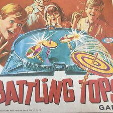 VINTAGE BATTLING TOPS GAME BY IDEAL 1968 SPARE PARTS