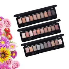10 Colors Shimmer Matte Eyeshadow Palette with Eye Shadow Makeup Applicator Set