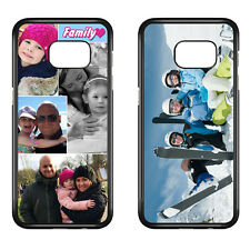 Personalised Samsung Phone Case Your Photo, Image Collage, Text Custom Printed.