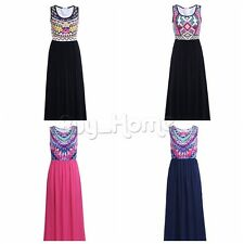 New Women Formal Evening Party Cocktail Prom Ball Gown Summer Beach Maxi Dress