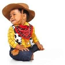 Disney Store Toy Story Woody Cowboy Costume Baby Toddler Infant Hat Sheriff NEW