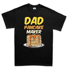 Pancake Dad Father Daddy New Gift Mens T shirt Tee Top T-shirt