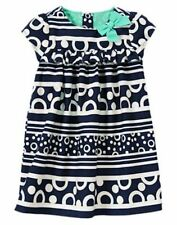NWT Gymboree Cape Cod Cutie Dress ,2T,3T Circles and Stripes Aqua Blue Toddler