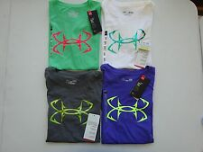 Under Armour Women's Short Sleeve Charged Cotton Hook Fishing Tee NWT!!!