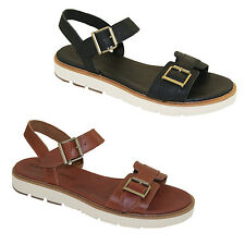 Timberland BAILEY PARK Ankle Strap Sandals Summer Leather Women's Sandals NEW