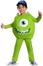 Mike Deluxe Monsters Inc University Fancy Dress Halloween Toddler Child Costume