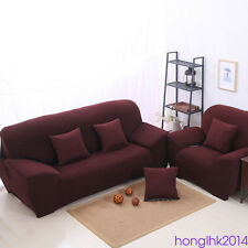 Stretch Chair Sofa Cover Elastic 1/2/3 Seater Slip Protector Cover for Home