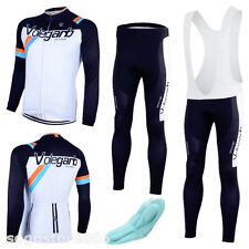 New Sports Bicycle Bike Cycling Clothing Men Long Sleeve Jersey Long Pants Set
