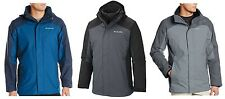 Columbia NWT $220 5-in-1 Eager Air Interchange Jacket All Weather Coat, L, Large