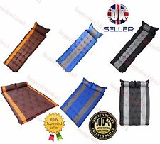 INFLATING SELF CAMPING ROLL MAT/PAD INFLATABLE BED SLEEPING OUTDOOR DMATTRESS