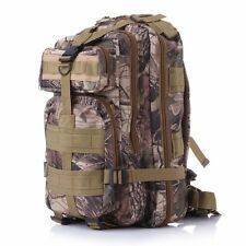 Outdoor Sport Military Tactical Backpack Rucksack Camping Bag Hiking Camo New