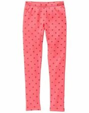 NWT Gymboree Warm and Fuzzy Pink Sparkle Dots Leggings Girls 3T,4T,5/6,7/8,10/12