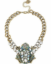 BETSEY JOHNSON REPTILES FROG KING PRINCE NECKLACE NWT