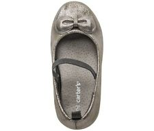 Carter's Little Girls' or Toddler Girls' Mary Janes  Color: GUNMETAL  9 10 11