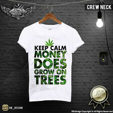 Men's Weed T-shirt Keep Calm Money Does Grow On Trees Cannabis Tank Top MD011