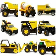 Tonka Steel Trucks Construction Durable Classic Building Site Toys