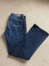 7 For All Mankind Ladies Bootcut Jeans,  Dark Wash, Size 29 - exc cond