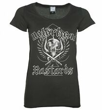 Official Women's Charcoal Motorhead Bastards T-Shirt from Amplified