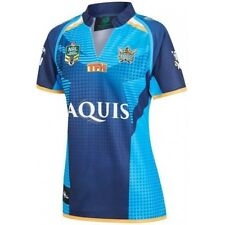 Gold Coast Titans 2017 NRL Ladies Home Jersey Shirt BNWT Rugby League Clothing