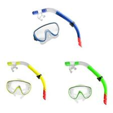 Swimming Diving Equipment Goggles Scuba Mask Snorkel Glasses Breathing Tube