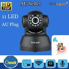 AU Sricam P2P Wireless IP Camera 11LED  WiFi IR 720P Security Nightvision Webcam