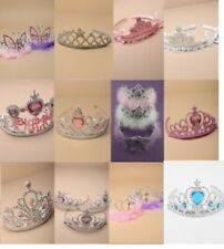 PACK OF 12 FANCY DRESS TIARAS / CROWNS, COSTUME, DRESS UP, PRINCESS, PARTY, HEN