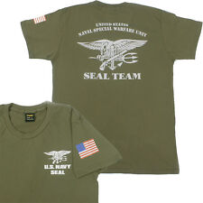 US Navy SEAL Team Devgru Special Forces T shirt [Ranger Green]