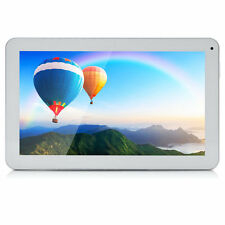 "iRULU 10.1"" White Android 6.0 Quad Core 8G WIFI Dual Cam Tablet PC w/TFCard"