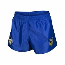 Parramatta Eels 2017 NRL Kids Supporter Shorts BNWT Rugby League Footy Clothing