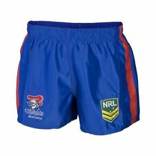 Newcastle Knights NRL Mens Supporter Shorts BNWT Rugby League Clothing