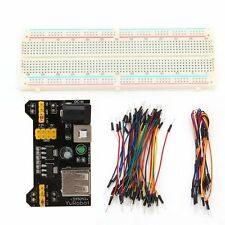 Solderless Breadboard MB-102 Protoboard 830 Tie Points 2 buses Test Circuit