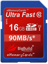 16GB Memory card for Panasonic Lumix DMC-FP8 Camera | Class 10 SD SDHC New