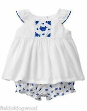 NWT Gymboree Gazebo Party Floral bloomer set 0 3 6 12 18 M Baby girls Toddler