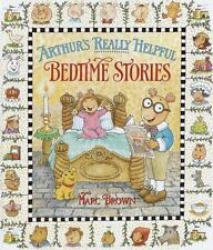 Arthur's Really Helpful Bedtime Stories Brown, Marc Hardcover