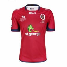 Queensland Reds 2017 Mens Home Jersey Shirt BNWT Rugby Union Clothing