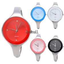Hot Fashion Women Lady Stainless Steel Simple Charming Wrist Watch Bracelet LM01