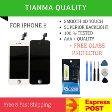 For iPhone 6 Black LCD Screen Replacement Touch Digitizer Display Assembly
